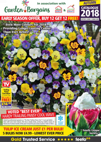 Garden Bargains - 2018 Catalogue